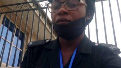 Photo of Ekiti East Bye-Election Violence: Police woman, Bukola laid to rest amidst tears