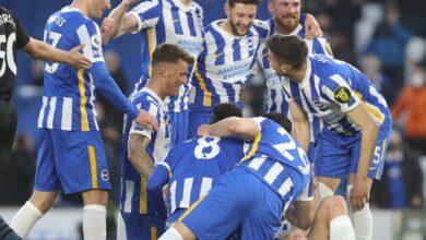 Photo of Brighton bounce back to beat 10-man Man City 3-2