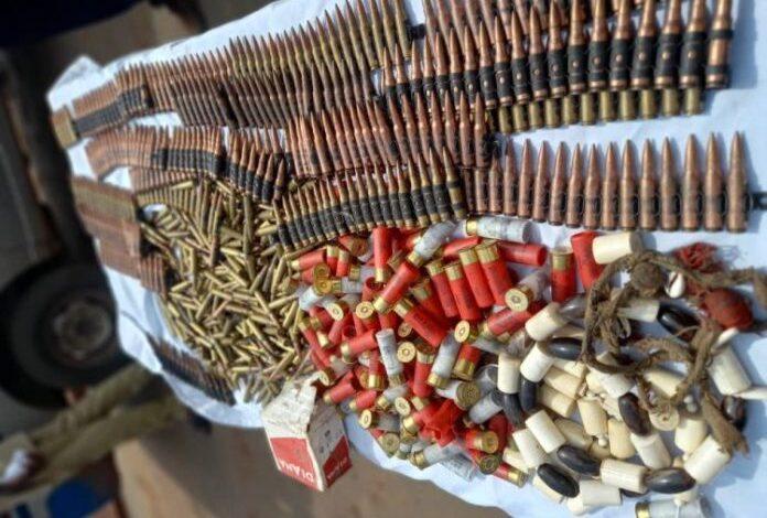753 Machine Gun live ammunition seized in Abakaliki