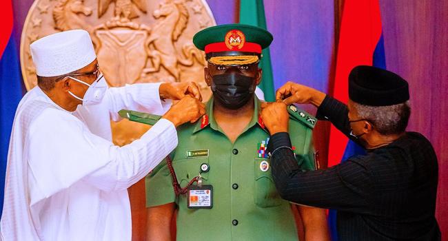 Why Buhari did not attend late COAS Attahiru's funeral - Presidency