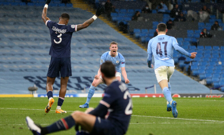 Man. City hit Champions League final after dumping out PSG