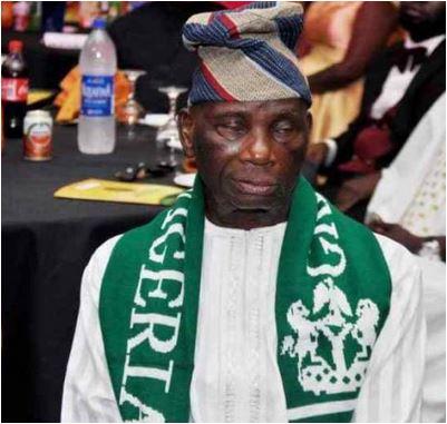 Buhari greets national flag designer at 85