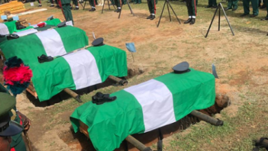 Photo of COAS Attahiru, 10 others laid to rest in Abuja
