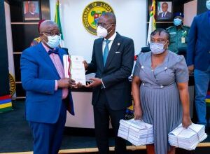 Photo of Sanwo-Olu receives LASU panel report on new VC's appointment