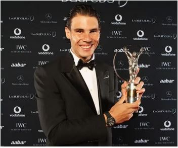 Nadal, Naomi Osaka win top Laureus awards