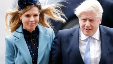 Photo of UK Prime Minister, Boris Johnson, fiancee pick wedding date