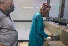 Photo of [Photos] Tinubu arrives from Dubai