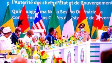 Photo of Pressure Mali to return to civilian rule, Buhari tells ECOWAS leaders in Ghana