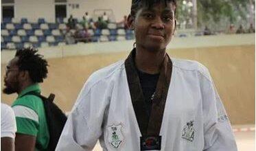Photo of Olympics-bound Anyanacho wins gold at Beirut Taekwondo open