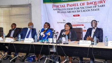 Photo of #EndSARS: Lagos Judicial Panel suspends sitting till further notice
