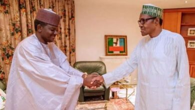 Photo of Buhari congratulates Gov Matawalle for dumping PDP for APC