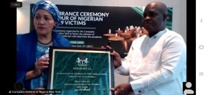 Photo of Photos: Nigeria Consulate holds memorial for Nigerian COVID-19 victims in New York