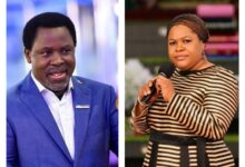 Photo of TB Joshua's death didn't come to me as a surprise – wife