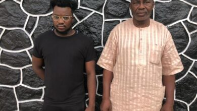Photo of EFCC arrests son, father for alleged internet fraud