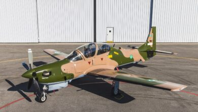 Photo of Insurgency: Six A-29 Tucano fighter jets depart U.S for Nigeria