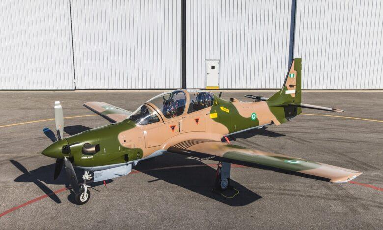 Insurgency: Six A-29 Tucano fighter jets depart U.S for Nigeria