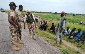 Photo of 91 Boko Haram/ISWAP fighters, families surrender in N/East