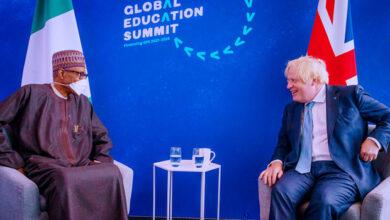 Photo of Boris Johnson to Buhari: We are ready to assist Nigeria fight terrorism war