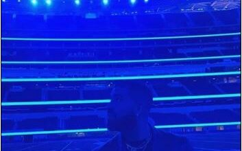 Photo of Drake hires stadium for date with model Johanna Leia