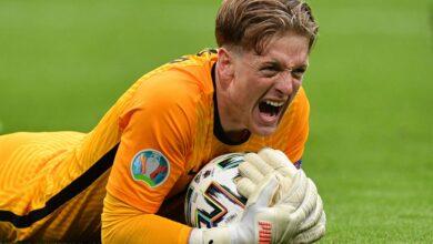 Photo of England keeper Pickford wins Euro 2020 Golden Glove