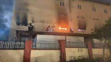 Photo of Popular Abuja supermarket Ebeano gutted by fire