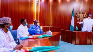 Photo of Buhari receives Ayade, Matawalle as APC holds congresses July 31