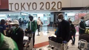 Photo of Olympics: Team Nigeria arrives Tokyo training camp in Kizarazu