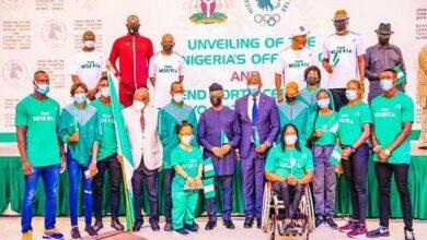 Photo of Tokyo 2020: Buhari asks Team Nigeria to repeat Atlanta '96 feat