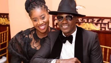 Photo of Photos: Sound Sultan's wife, Farida clings to his casket during burial in U.S.