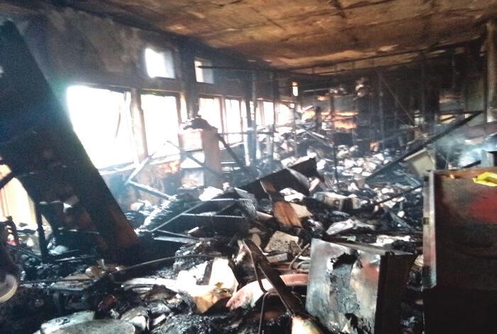 Fire guts federal secretariat, destroys Delta NYSC office