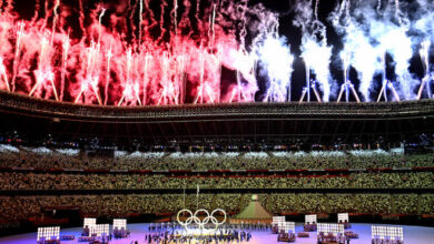 Photo of Tokyo Olympics begin with colourful ceremony in empty stadium