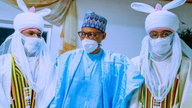 Photo of Photos: Buhari's son, Yusuf, receives traditional title in Daura, Katsina State