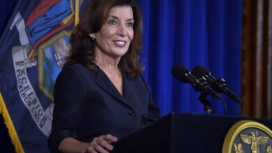 Photo of New York gets first female governor
