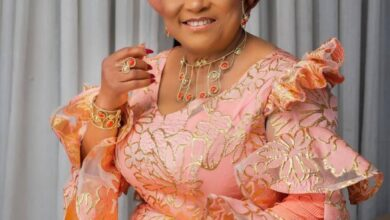 Photo of Sola Sobowale celebrates twin daughters on birthday