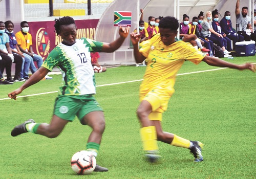 Aisha Buhari Cup: Banyana thrash Falcons to lift trophy