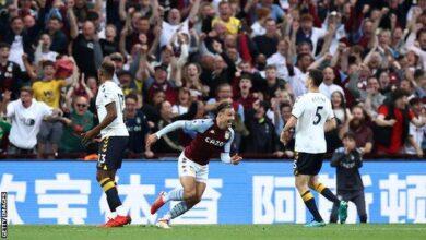 Photo of Aston Villa break Everton's unbeaten run
