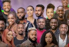 Photo of BBNaija: Pere, Angel join other housemates as Emmanuel emerges final Head of House