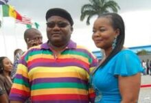Photo of Popular Nollywood actress loses husband, 'Dudu Heritage'