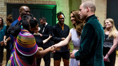 Photo of Photo: Nigeria's Yemi Alade meets Royal Family, performs at Earthshot Prize Awards in London