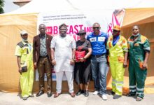 Photo of Access Bank supports free cancer screening for LAWMA staff