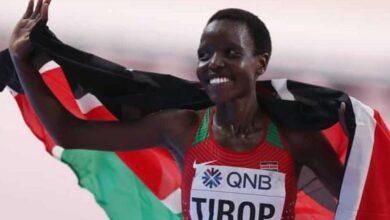 Photo of Kenya athletes bid Agnes Tirop final farewell