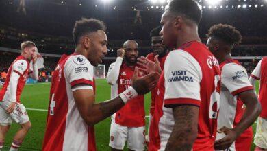 Photo of Arsenal beat Aston Villa with Partey, Aubameyang, Smith Rowe goals