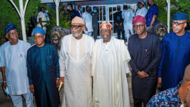 Photo of South-West Governors meet in Lagos, visit Tinubu