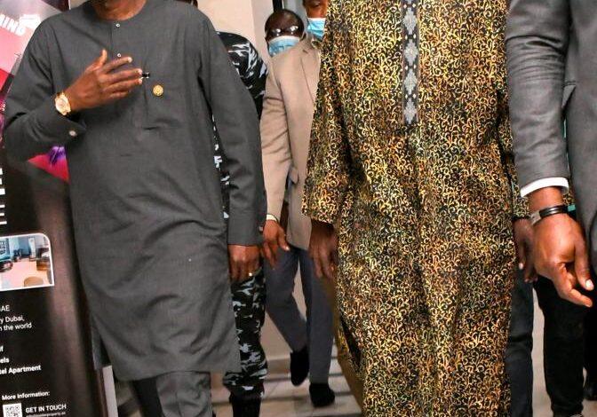 JUST IN: Tinubu lands in Lagos [Photos]